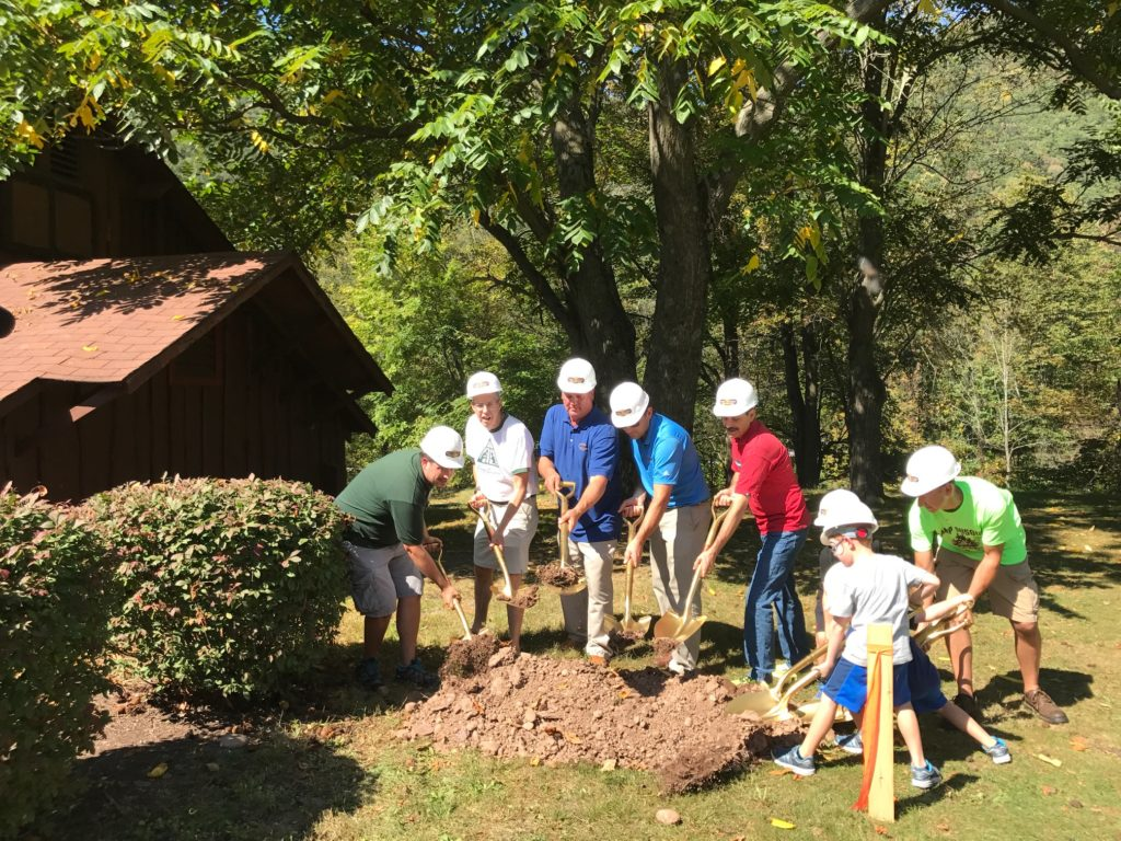 Groundbreaking for four part expansion project at Camp Susque
