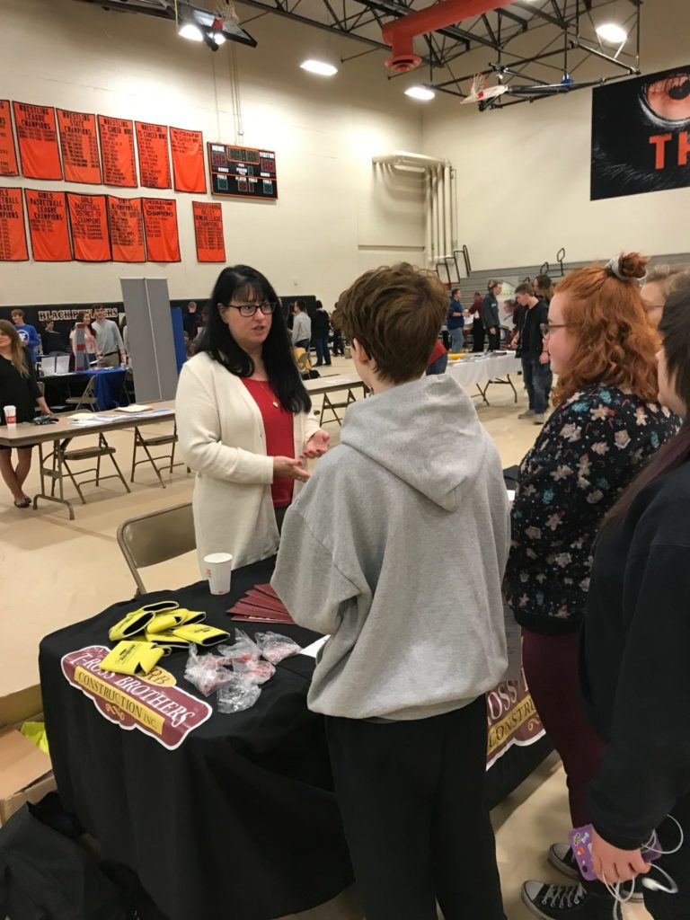 T-Ross Brothers Construction takes part in Career Fair at Milton High School