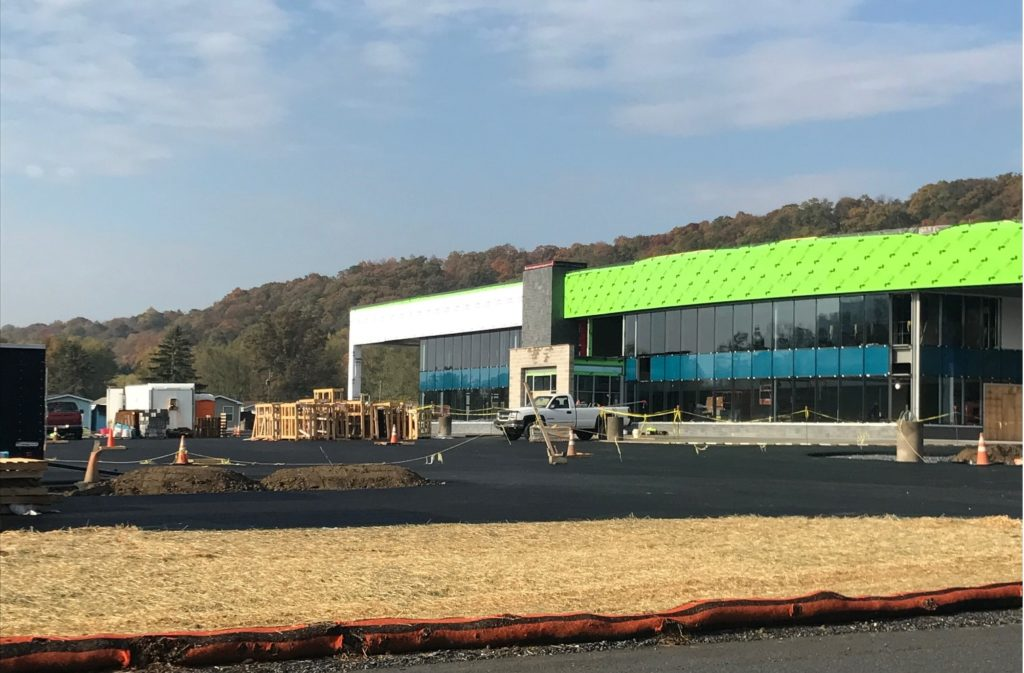 Progress continues at site of the new W&L Subaru